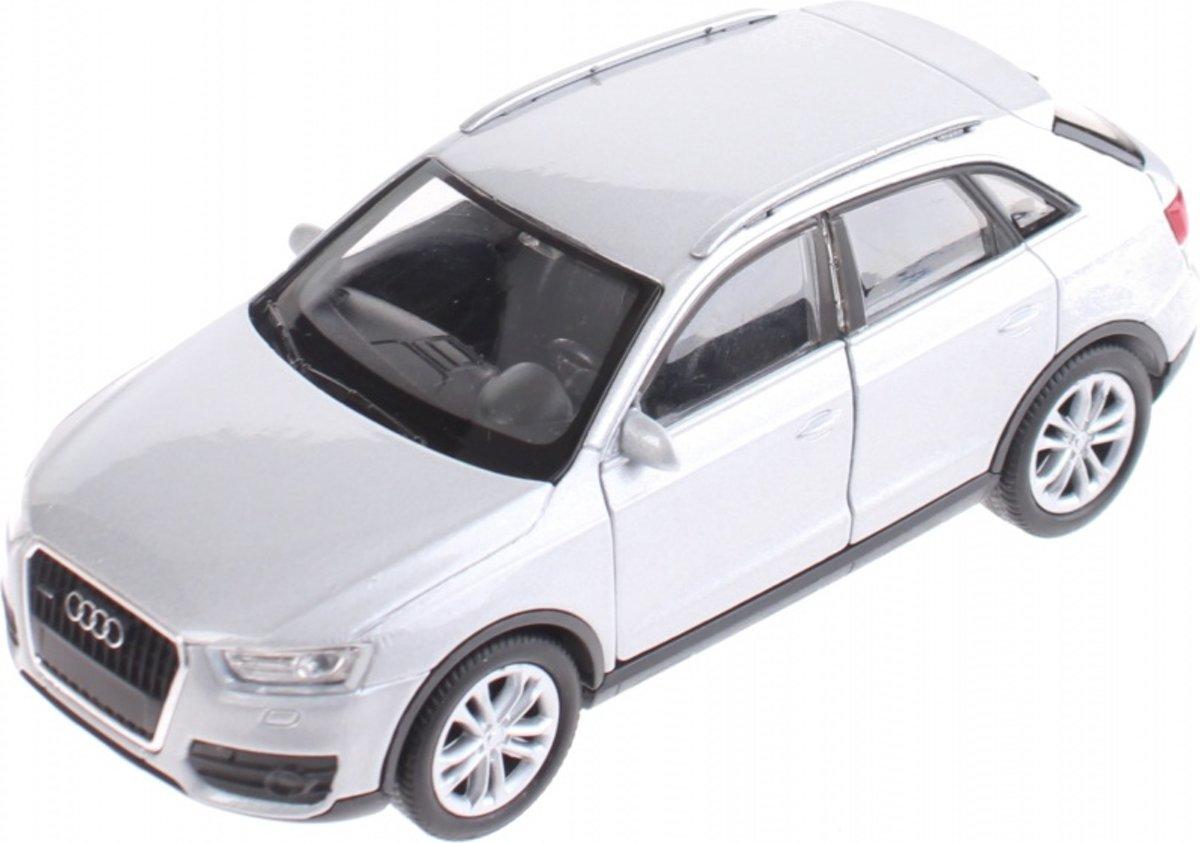 Welly Miniatuur Audi Q3 Grijs