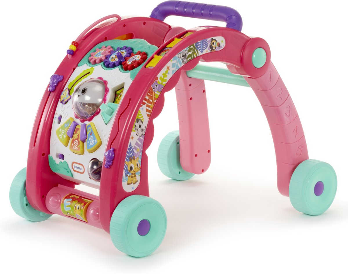 Little Tikes 3-in-1 Activity Walker Roze - Loopwagen