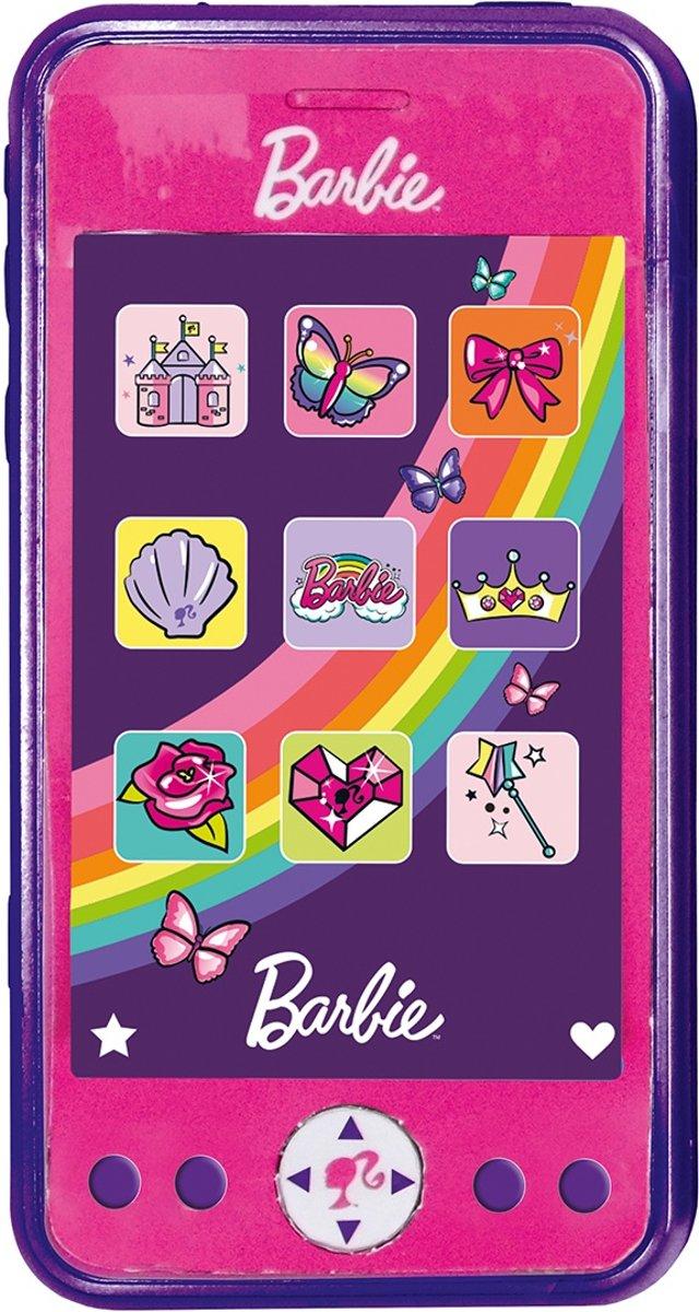 Barbie Speelgoed Telefoon Roze 12 Cm