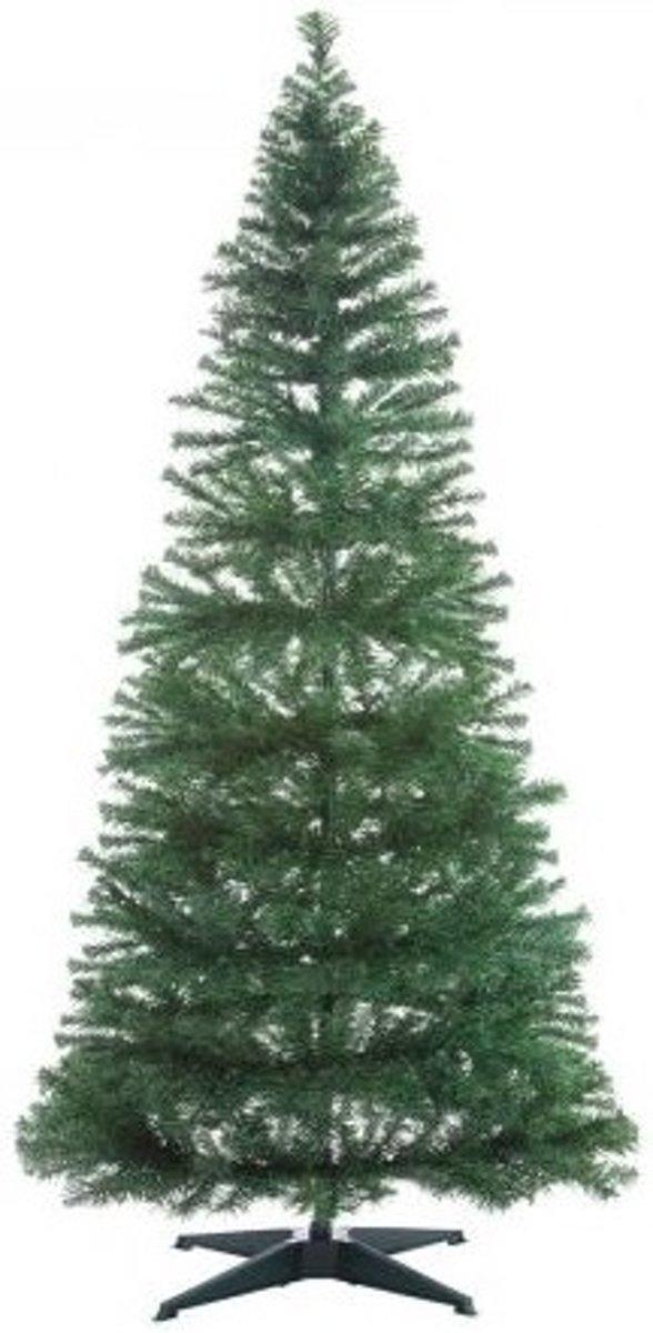 Kerstboom met versiering, met verlichting, 180cm, donkergroen, makkelijk opbouwen, complete kerstboom, snelle montage kopen