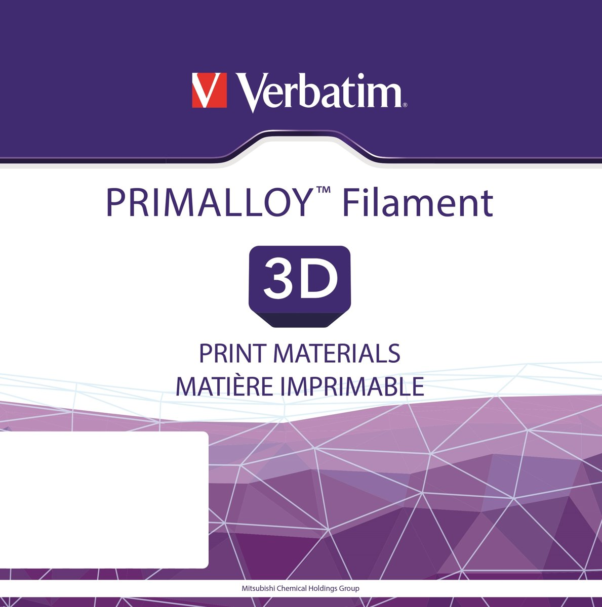 Verbatim 55507 3D Printer Filament PRIMALLOY 2.85mm 500g Zwart