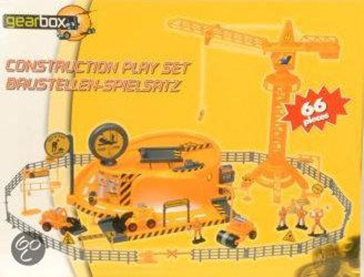 Bouwplaats Speelset Gearbox