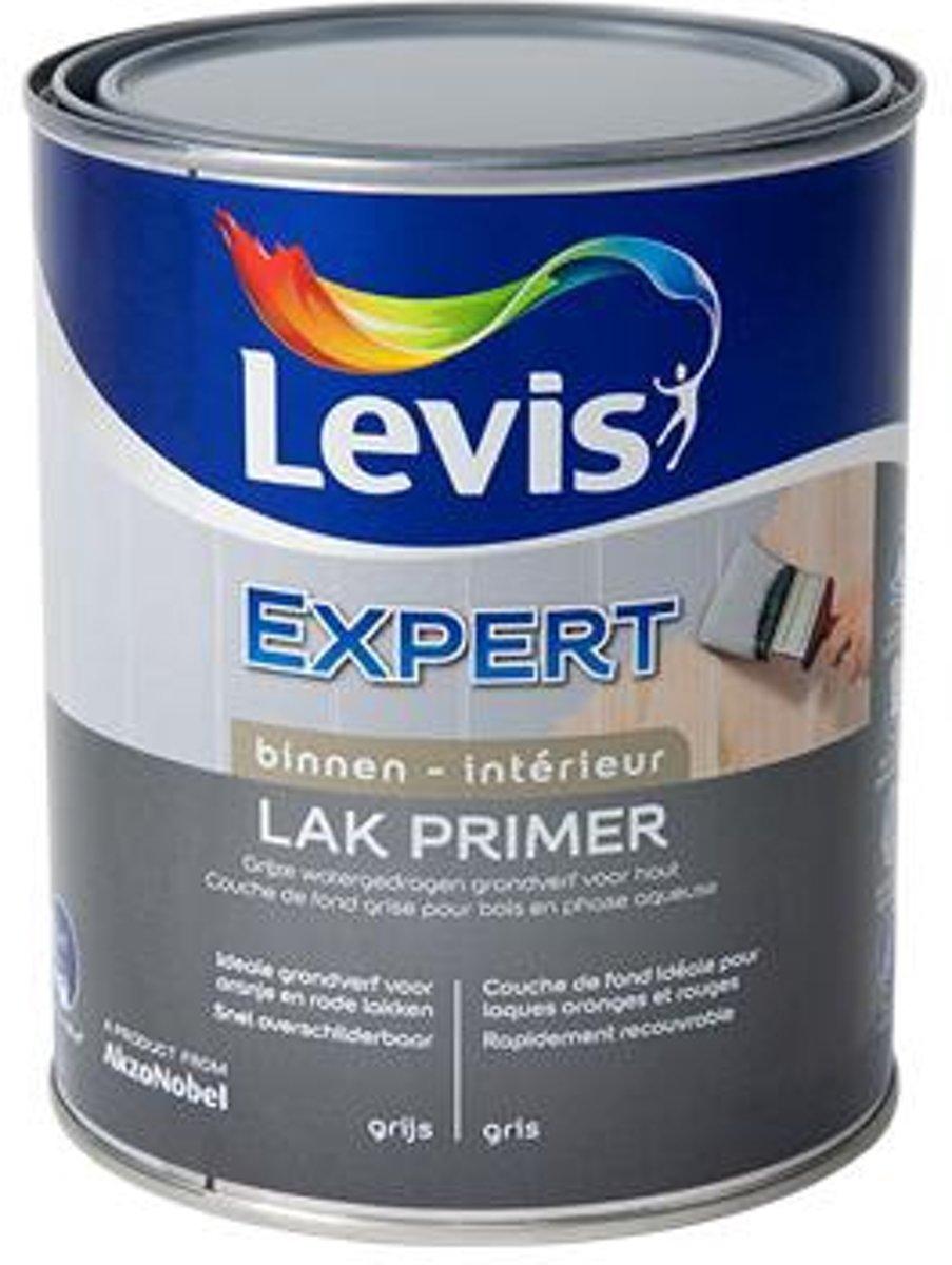 Levis primer lak binnen �Expert' grijs 750 ml
