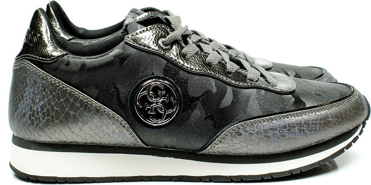 Guess Dames Sneakers Flsnn3 Fab12 Grijs Maat 37
