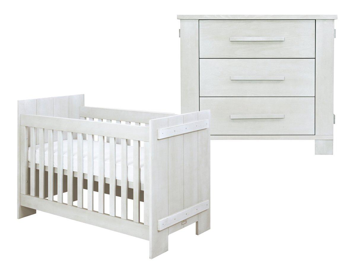 Babykamer Daphne Stijlen : Bol.com bopita 2 delige babykamer tim white wash