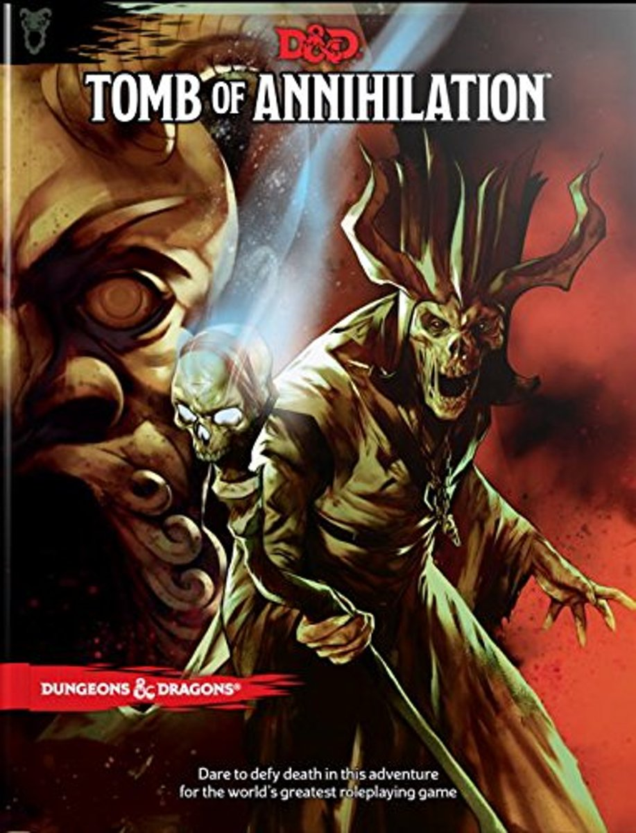 D&D 5.0 - Tomb of Annihilation TRPG