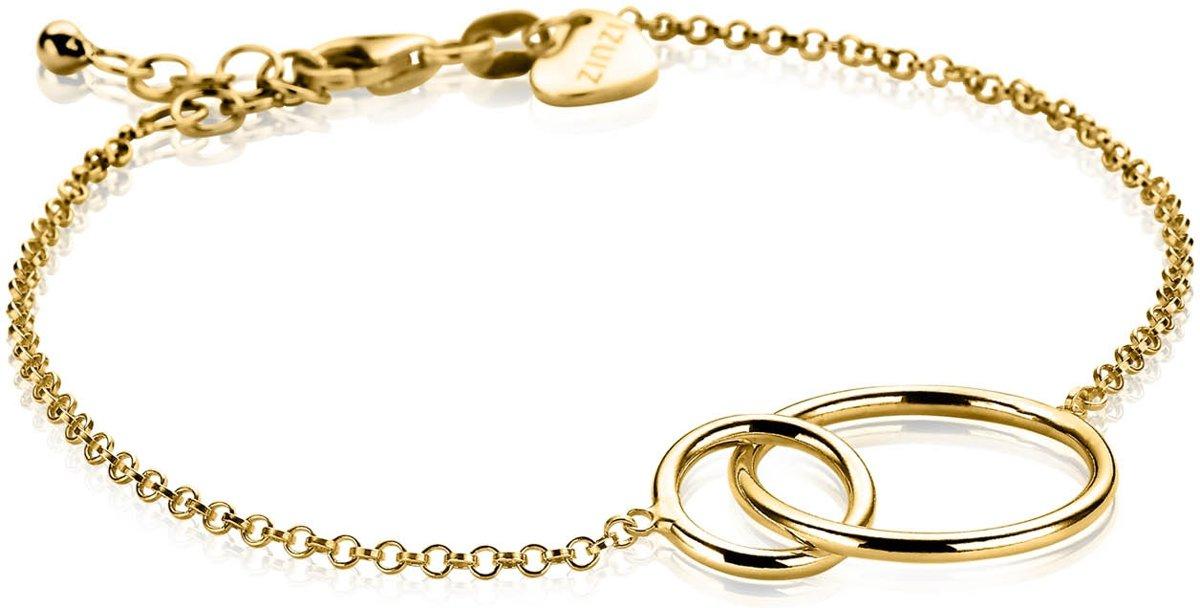 Zinzi Jewels Goudkleurige Armband  (Lengte: 18.00-21.00 cm) - Goud