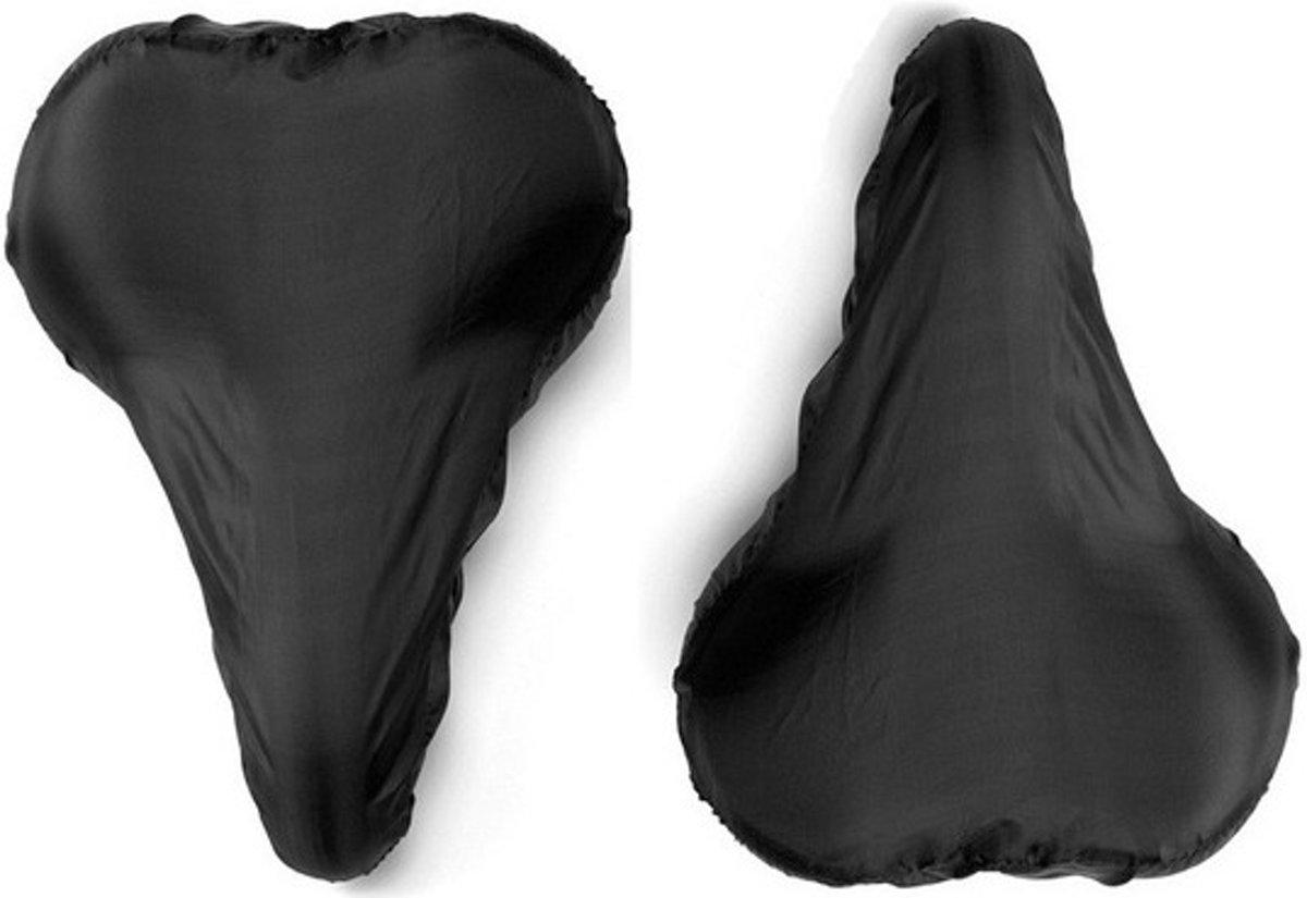 2x Zwarte zadelhoes waterdicht - Voordelige zadelhoezen voor de fiets kopen