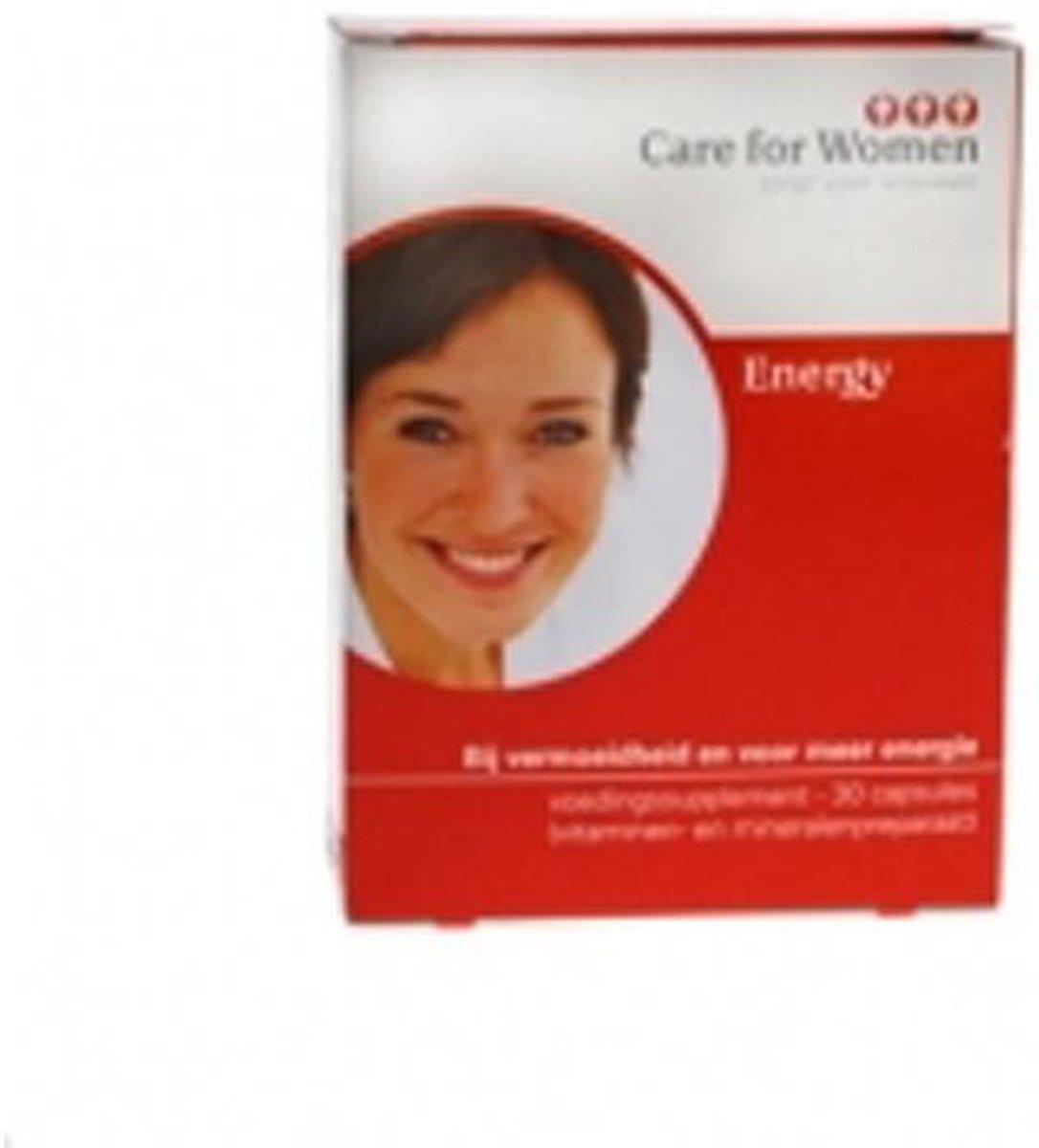 Foto van Care for Women Energy - 30 Capsules - Voedingssupplement