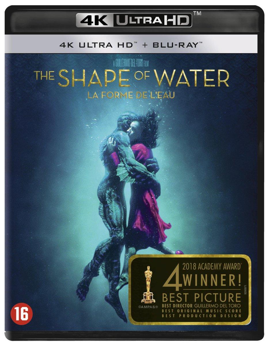 The Shape Of Water (4K Ultra HD Blu-ray)-