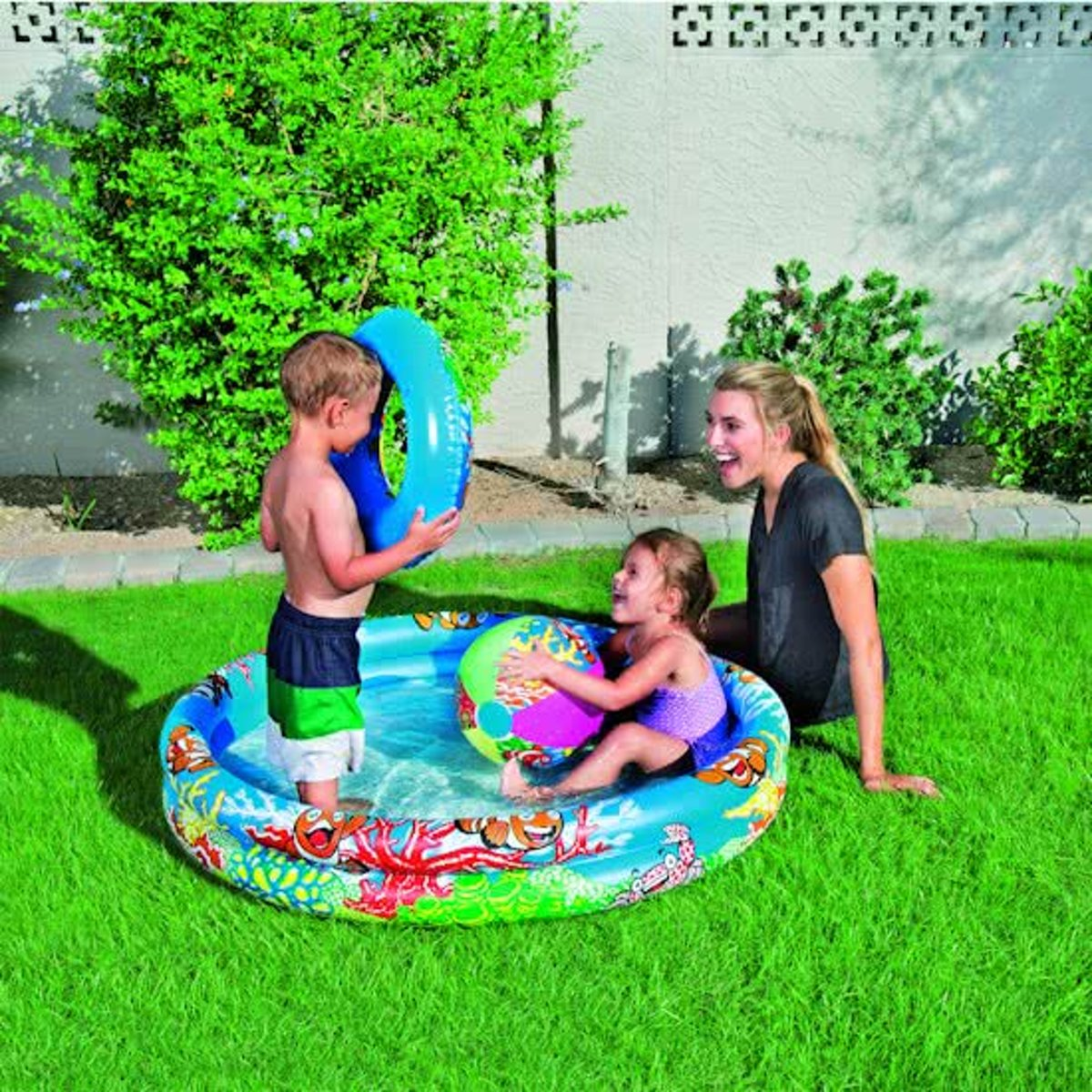 Bestway Play Pool Set 122 cm - Kinderzwembad