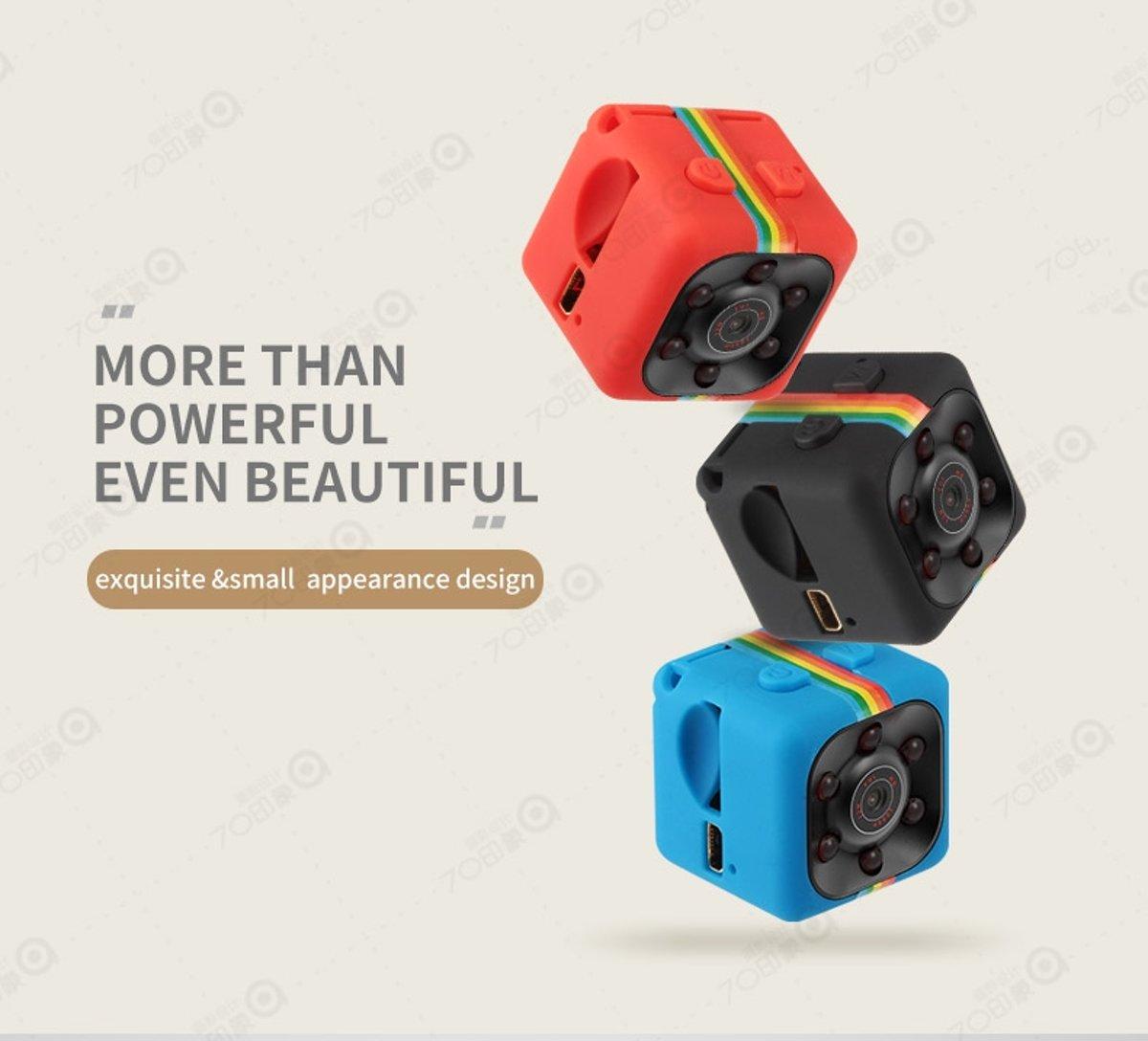 Cenocco Full HD 1080p Mini Camera CC-9047 - Foto's En Video's Van Hoog Kwaliteit