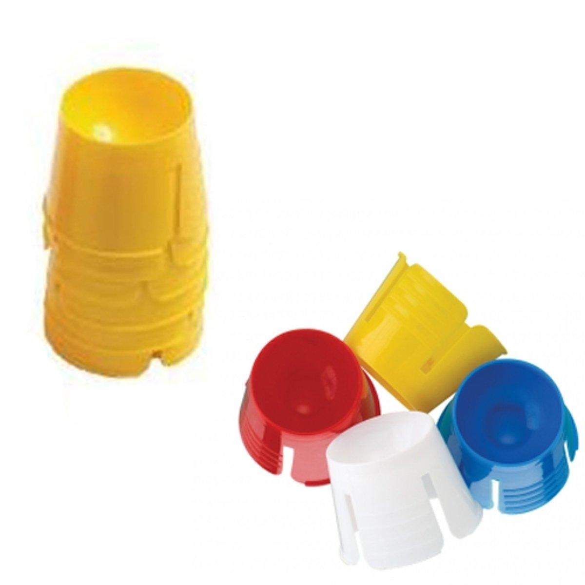 ASA 50x disposable dappenglaasje / dappendish GEEL kopen
