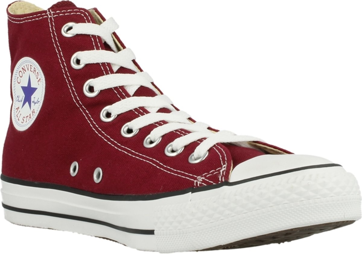 b8c660b9471 bol.com | Converse All Star Hi M9613 - Sneakers - Kinderen - Maat 36.5 -  Donker Rood