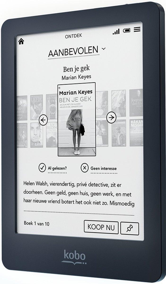 bol.com | Kobo Glo Refurbished - Zwart - e-reader