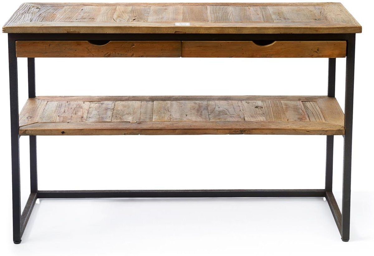 Side Table Met Lade.Top Honderd Riviera Maison Shelter Island Side Table Bijzettafel
