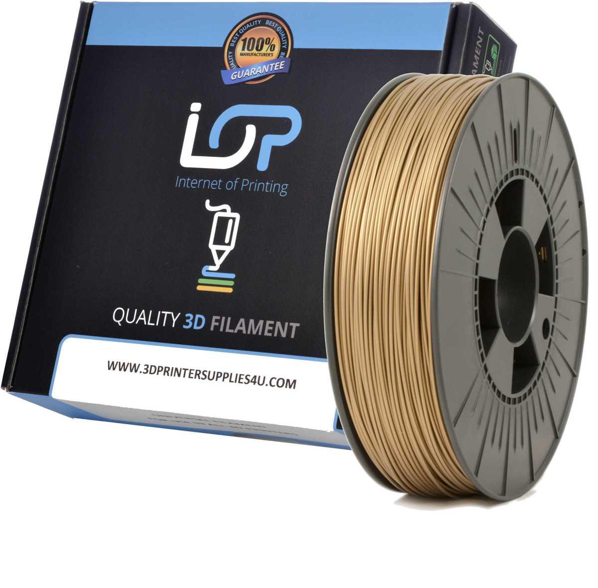 IOP PLA 1,75mm Bronze Gold 500gr