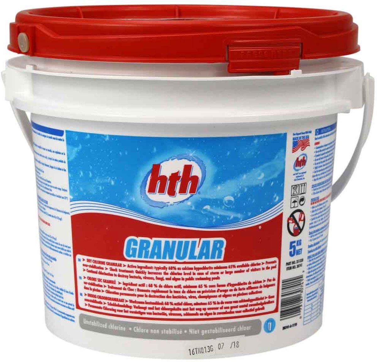 HTH Zwembadreiniging Chloor granulaat