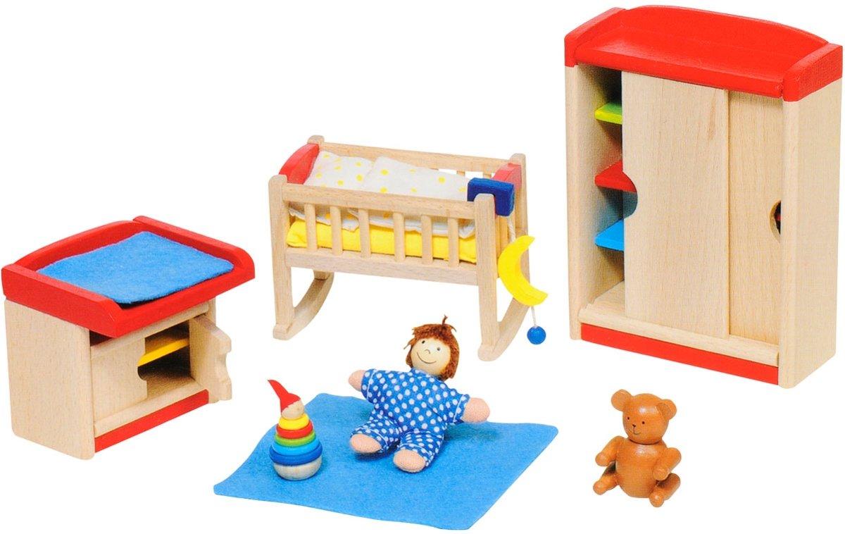 Goki Meubeltjes Poppenhuismeubeltjes Kinderkamer 12-delig