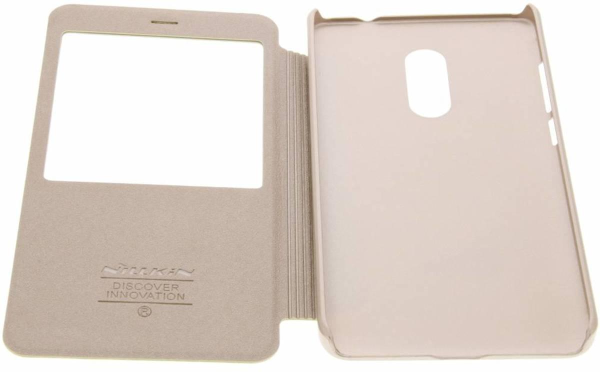 tinceler Cas Intelligent De Type Livre Pour Xiaomi Redmi Note 4 - Blanc urBk0y40
