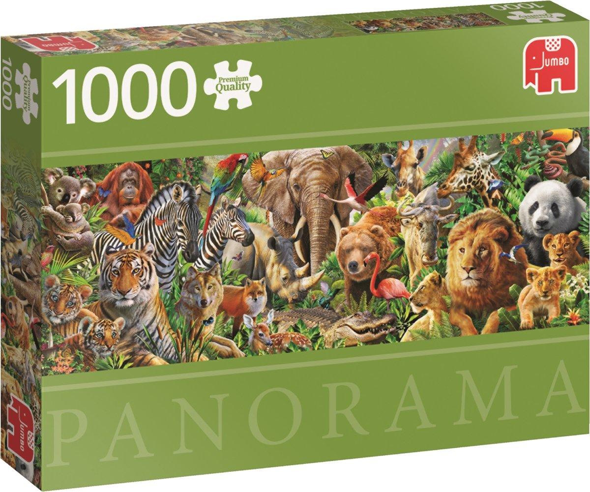 African Wildlife Jumbo Premium Quality Puzzel 1000 Stukjes