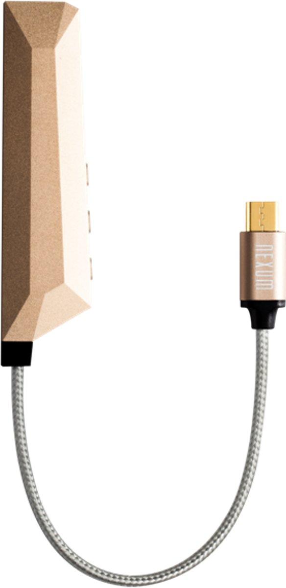 Nexum AQUA Micro Audio Versterker Micro USB Android Goud kopen