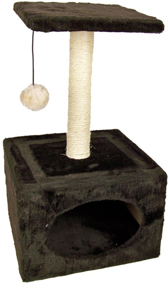 Katten Krabpaal / Speeltoren (bruin)
