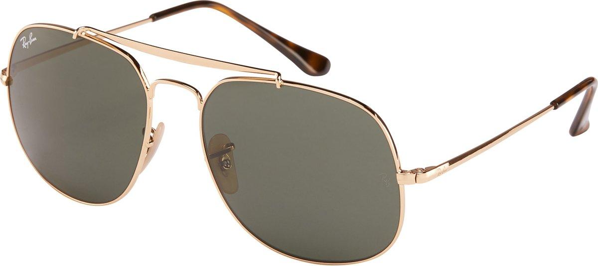 Ray-Ban RB3561 001 - General - zonnebril - Goud / Groen Klassiek G-15 - 57mm kopen