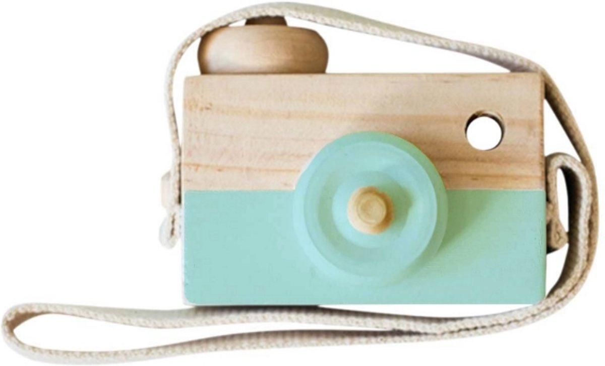 Houten Camera/Fototoestel Speelgoed   Mintgroen  Kinderkamer Baby Accessoire/Decoratie