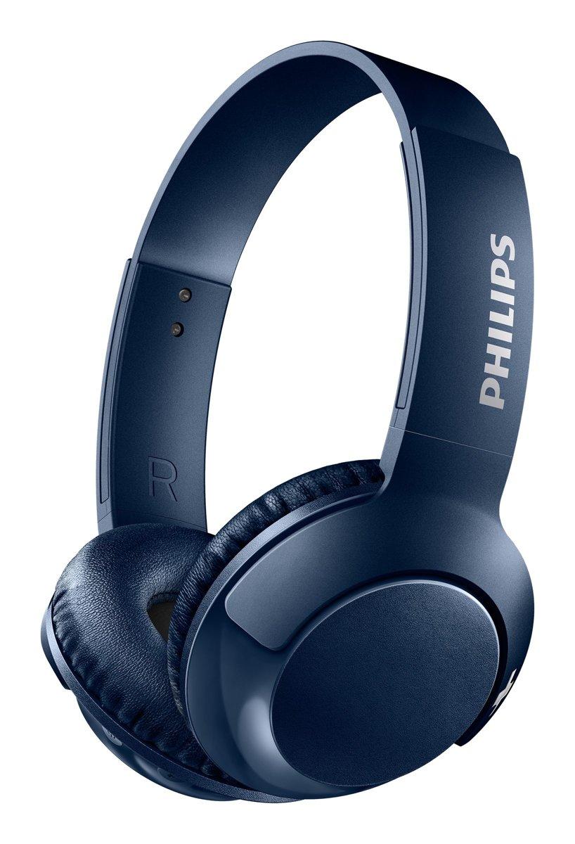 Philips SHB3075 - Draadloze on-ear koptelefoon - Blauw kopen