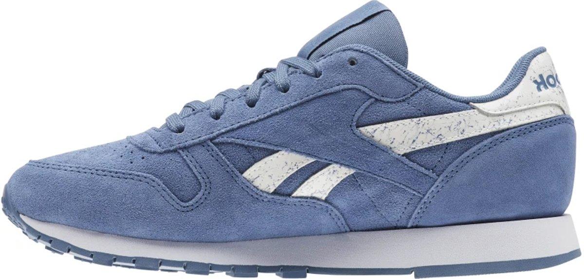 reebok classic leather Dames blauw CN4385 blauwe sneakers