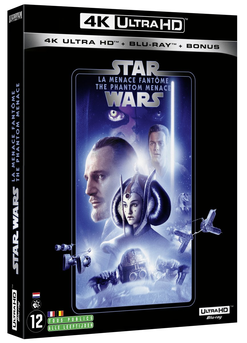 Star Wars Episode I: The Phantom Menace (4K Ultra HD Blu-ray) (Import zonder NL)-