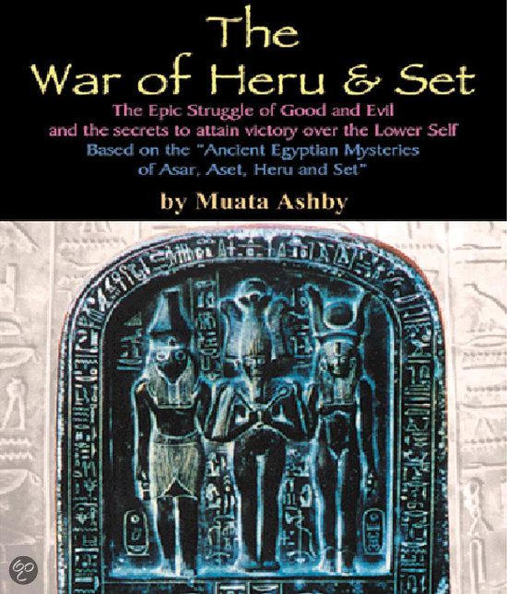 bol com | The War of heru and Set (ebook), Muata Ashby