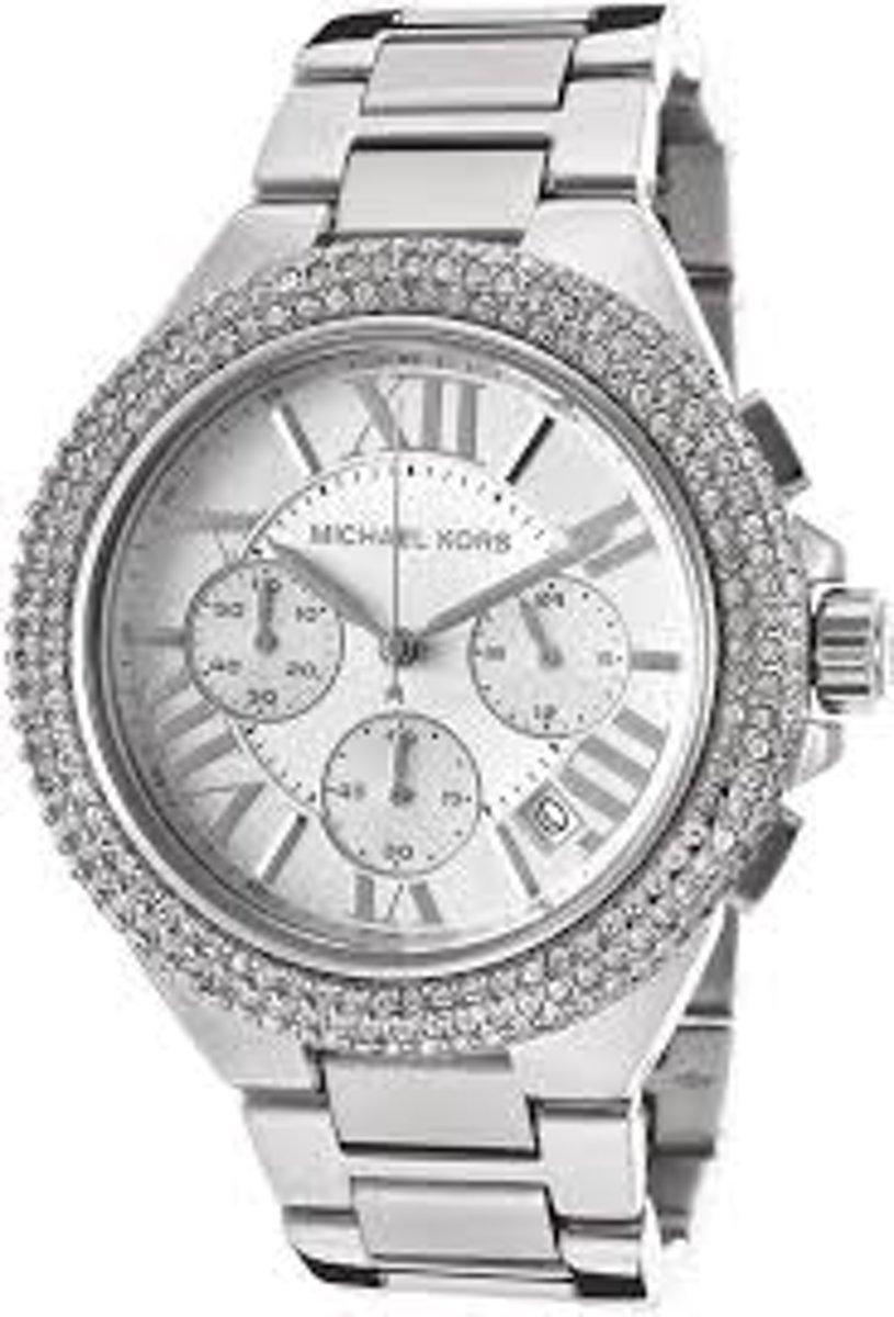 | Michael Kors Mk5634 horloge met zilveren stalen band