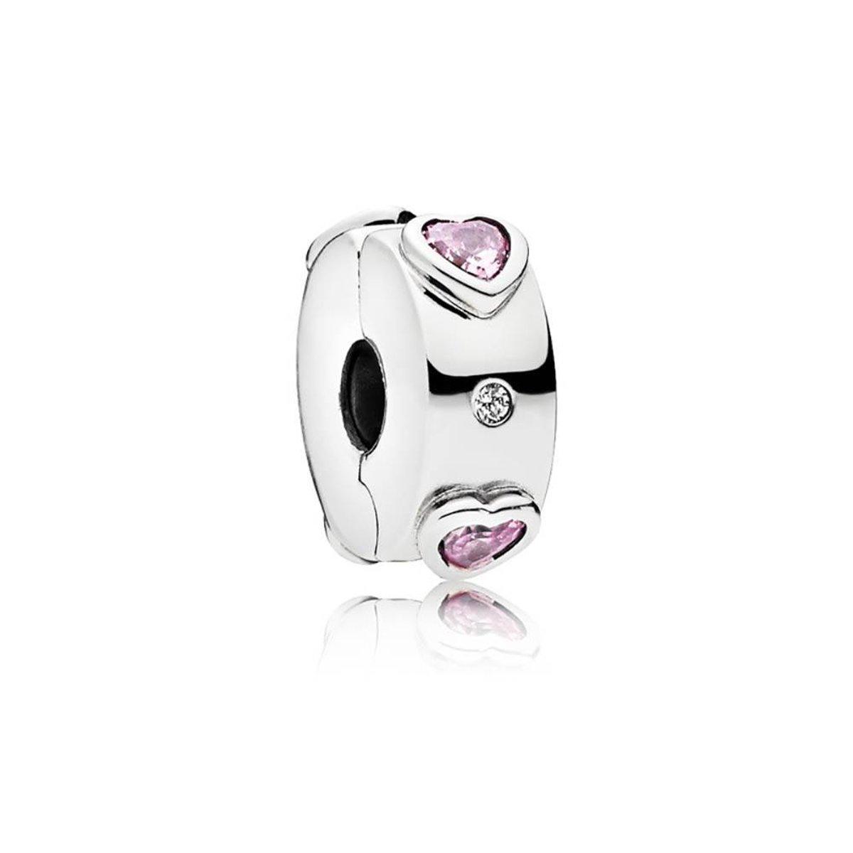 Pandora Clip-Stopper bedel zilver Explosion of Love 796591FPC kopen