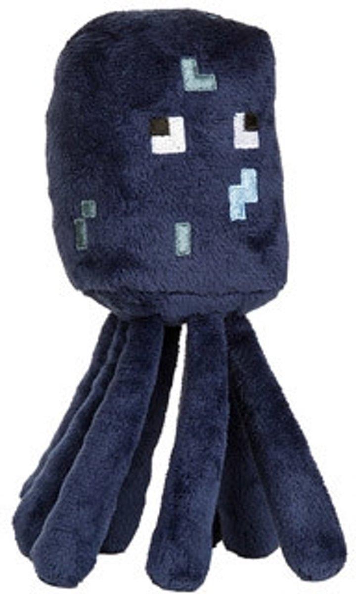 Minecraft Pluche Knuffel - Squid Inktvis 17cm