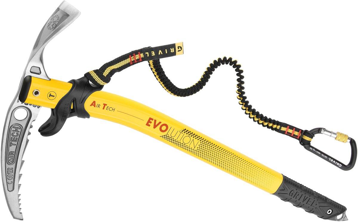 Grivel Air Tech Evolution ijsbijl 58 cm, with easy slider + sspr