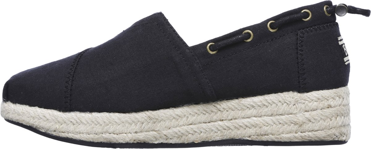 Skechers Highlights Set Sail Espadrilles Dames Black Maat 37
