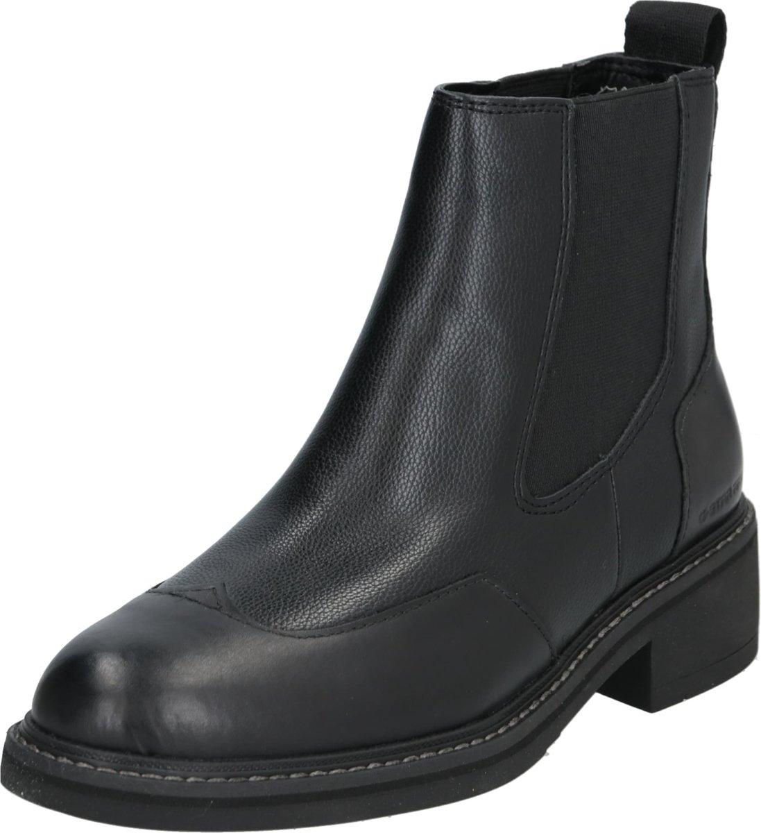G Star RAW Tacoma Boot leren enkellaarzen zwart   wehkamp