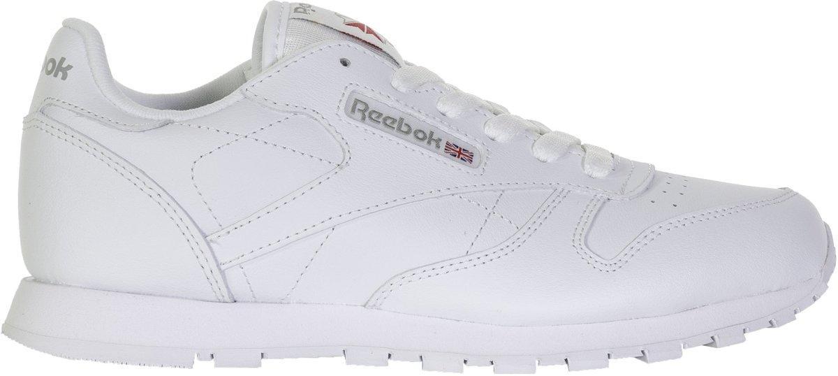 47ca9b25953 bol.com | Reebok Meisjes Sneakers Classic Leather Kids - Wit - Maat 37