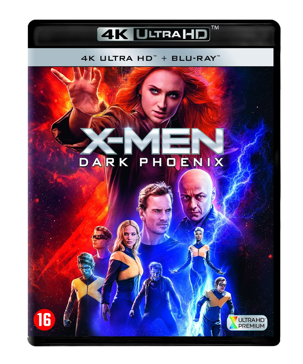 X-Men: Dark Phoenix (4K Blu-ray)-
