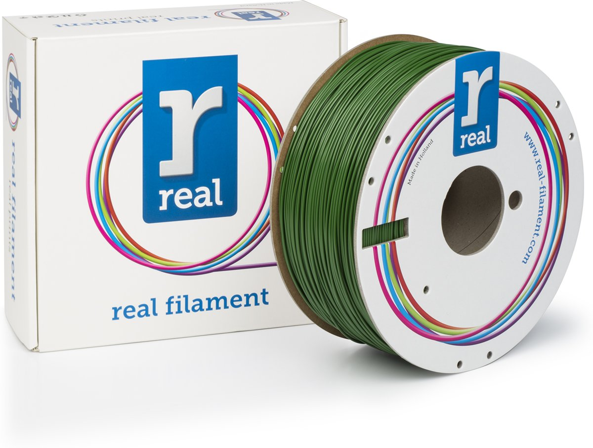 REAL Filament ABS groen 1.75mm (1kg)