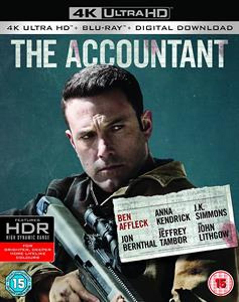 Accountant (4K Ultra HD Blu-ray) (Import)-