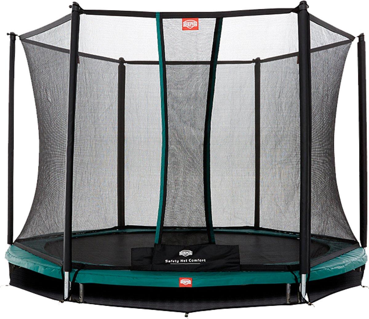 BERG Talent InGround Trampoline - 300 cm - Inclusief Veiligheidsnet Comfort