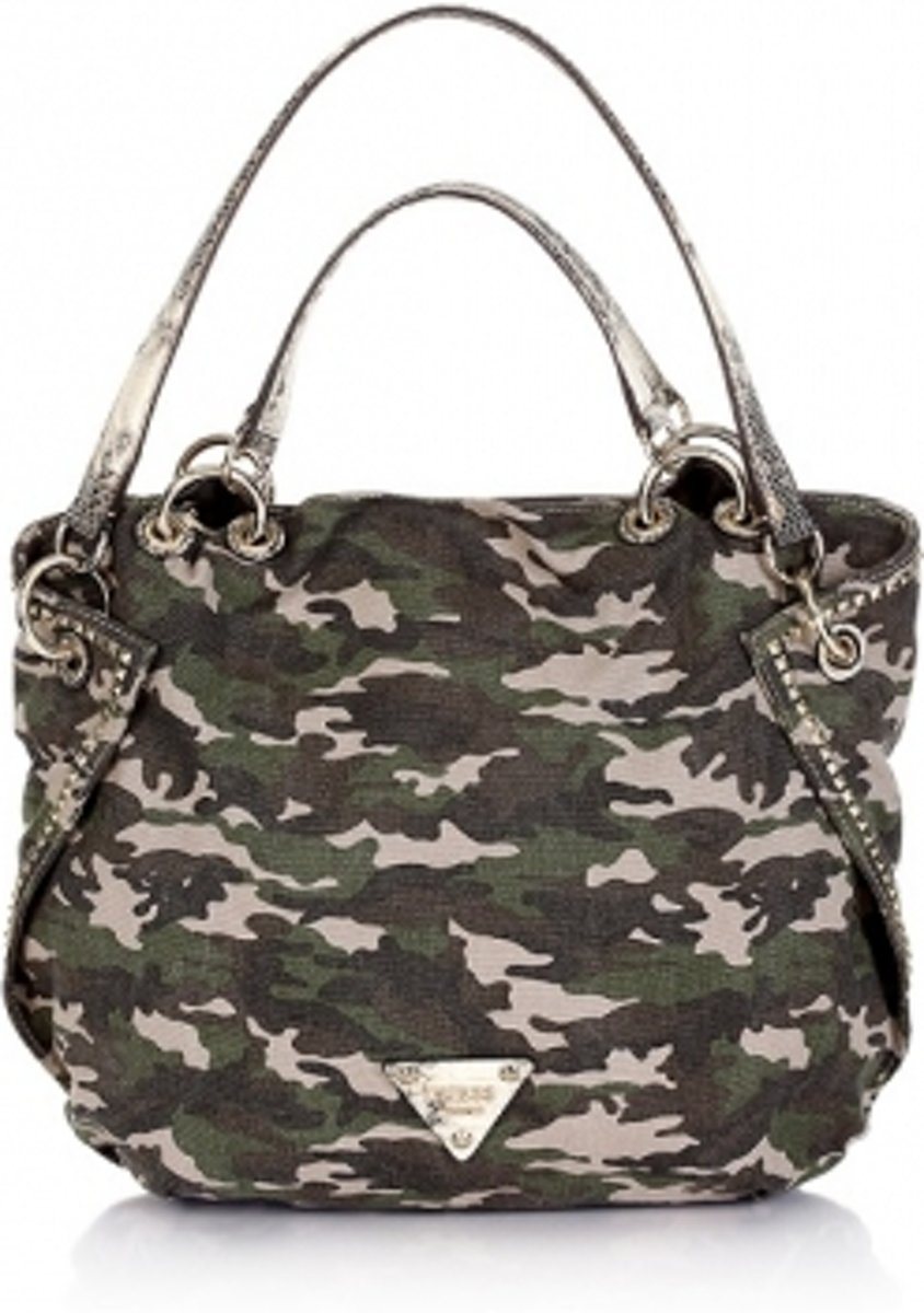   Guess Dylan Satchel Satcheltas Camouflage