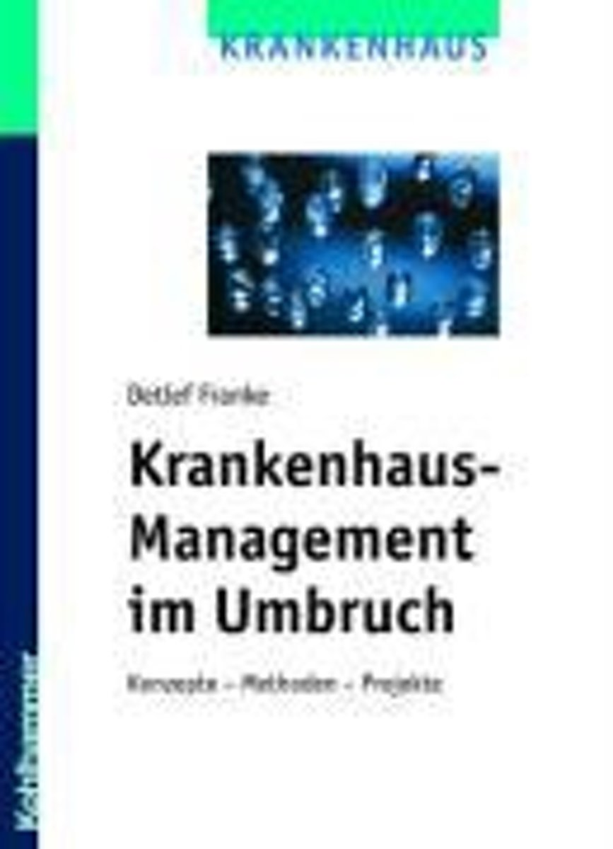 bol.com   Krankenhaus-Management Im Umbruch, Detlef Hans Franke ...