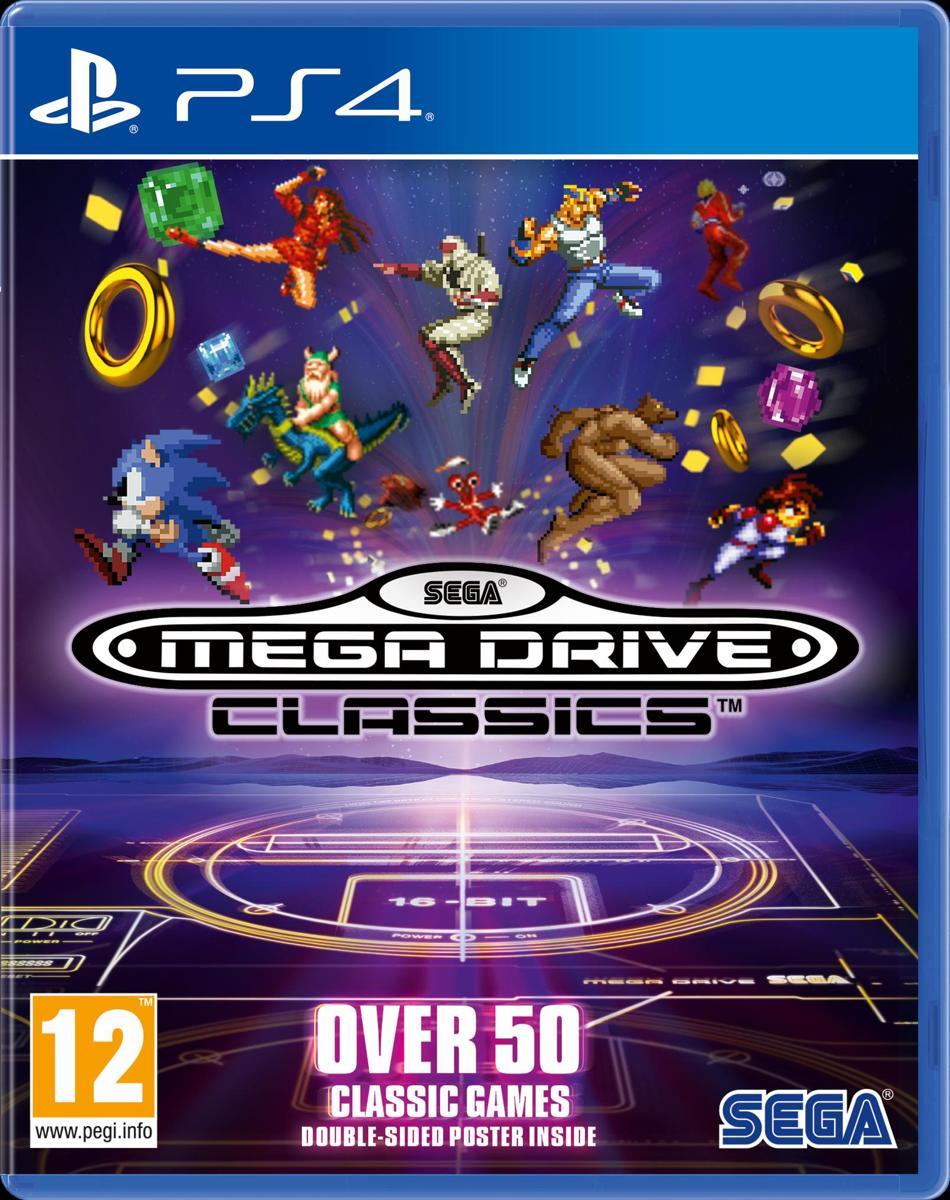 SEGA Megadrive Classics PlayStation 4