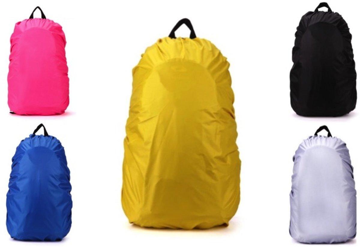 Regenhoes Rugzak - Waterdichte Backpack Hoes - Flightbag 35L | Bescherm uw tas tegen regen! (Geel) kopen