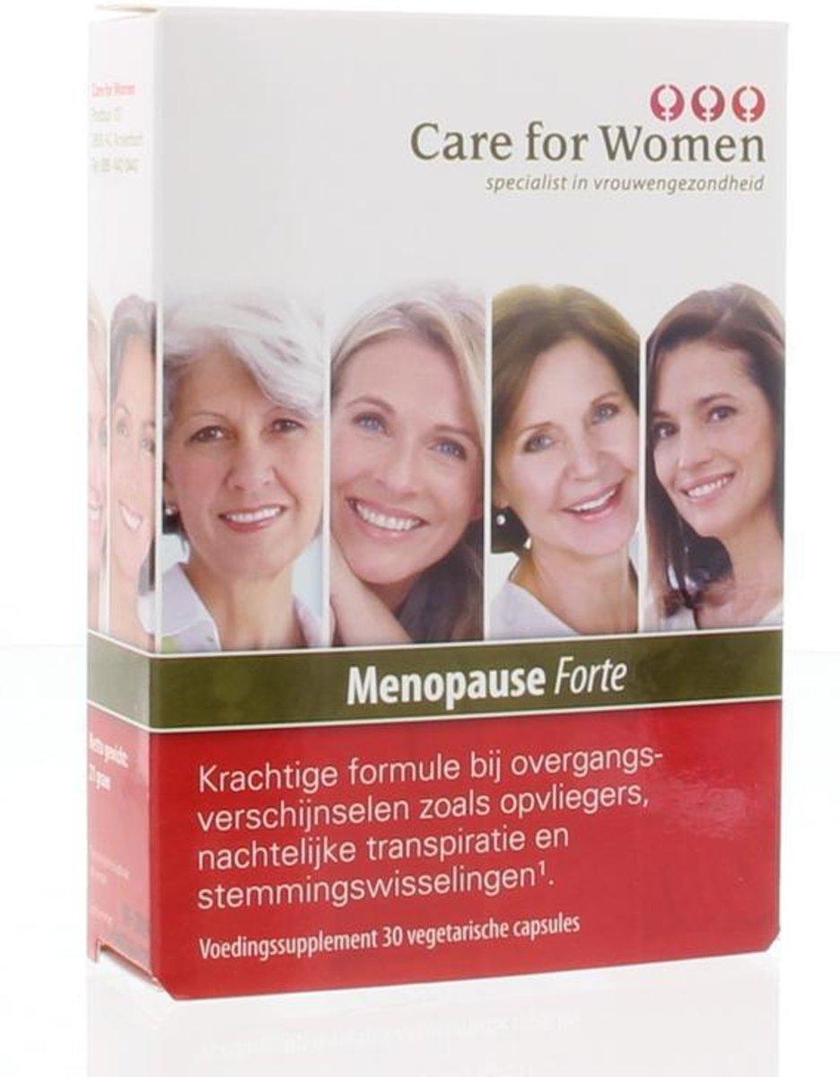 Foto van Care for Women Menopause Forte - 30 Capsules - Voedingssupplement