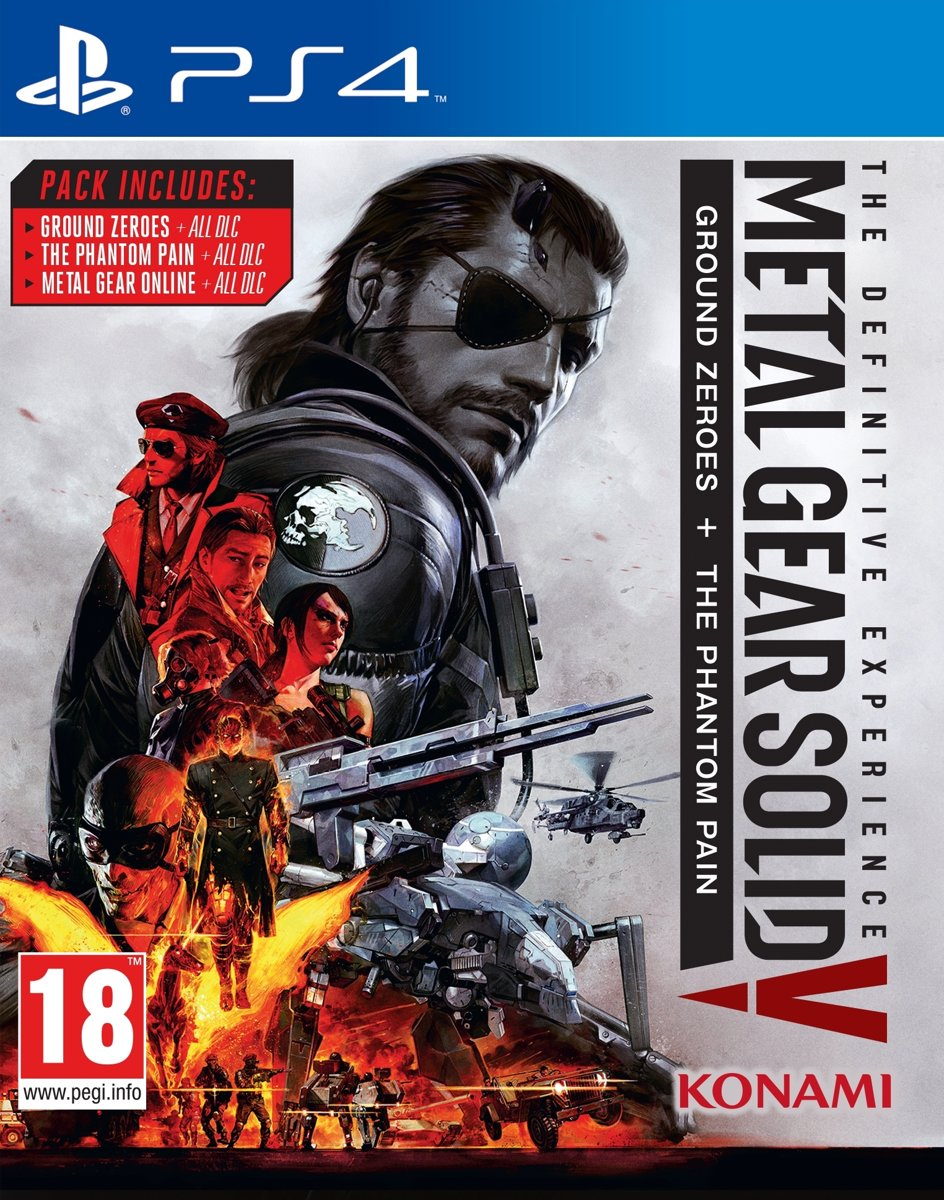 Metal Gear Solid V, The Definitive Experience PlayStation 4